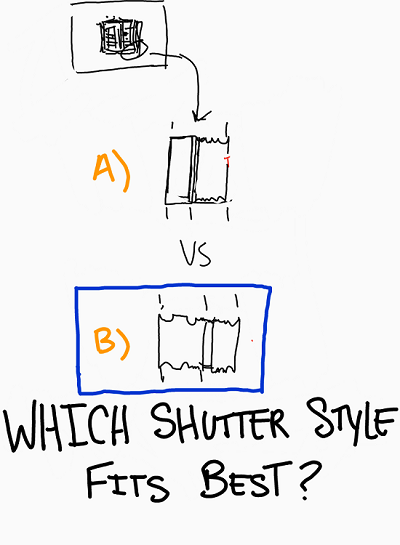 Which California Shutter Style fits best?