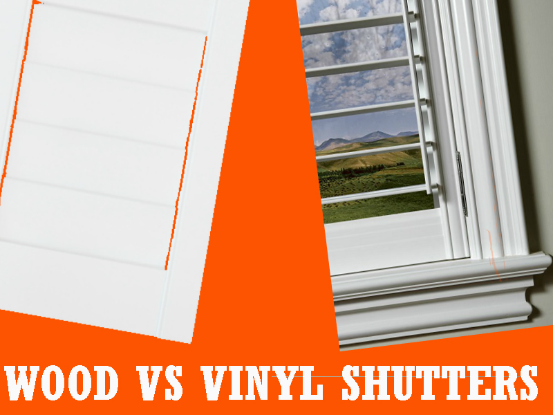 Wood Vs Vinyl Shutters: 5 Major Differences You Didn't Know About