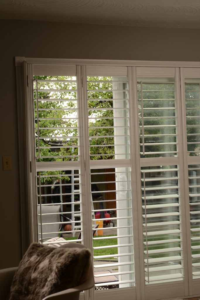 5 Blackout Blinds That Were Made For Your Sliding Patio Doors Shutter Boys Toronto S Best California Wood Vinyl Shutters
