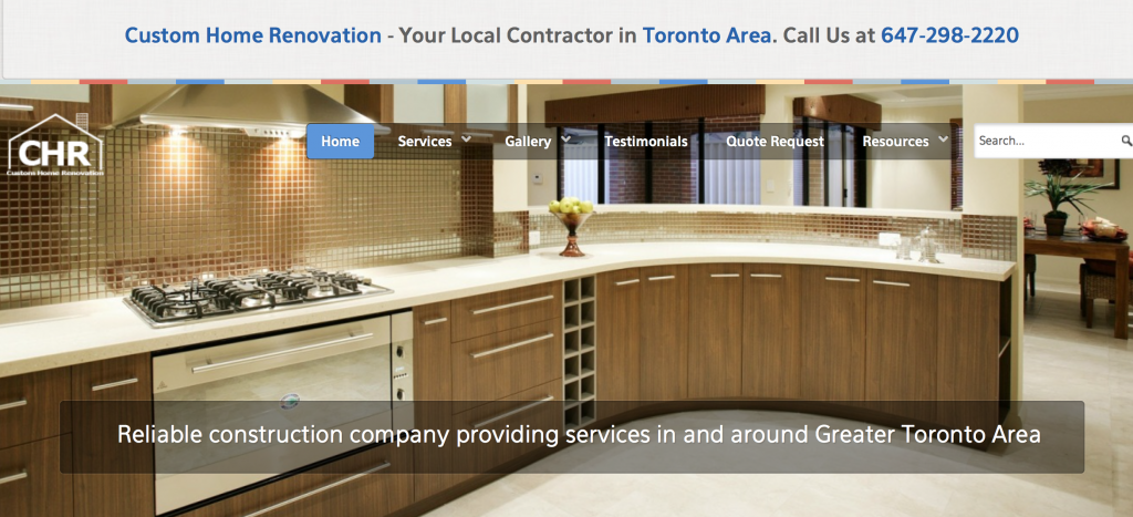 Custom Home Rennovation Experts in Toronto