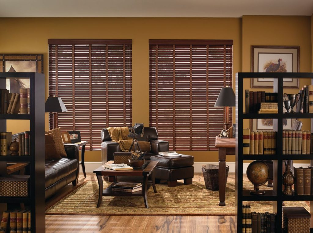 Delore Venetian Composite Wood Blinds Canadian Window covering idea 8