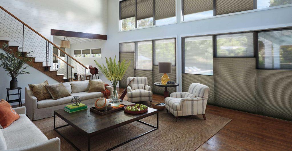 Window Covering Idea - Hunter Douglas Duette Honeycomb Shades Toronto